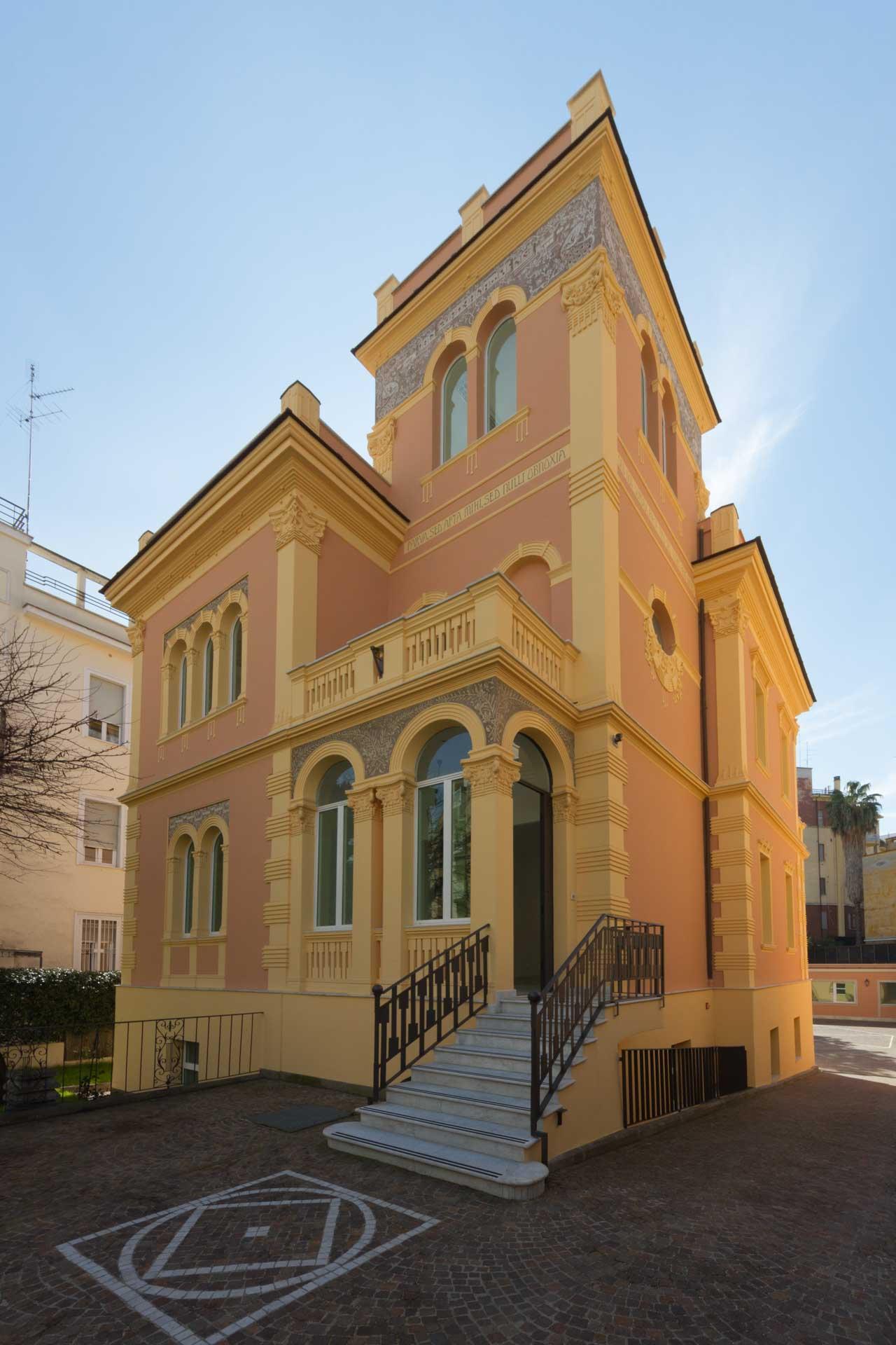Head Office for Lease in Rome Italy – Unique Art-Nouveau Villa